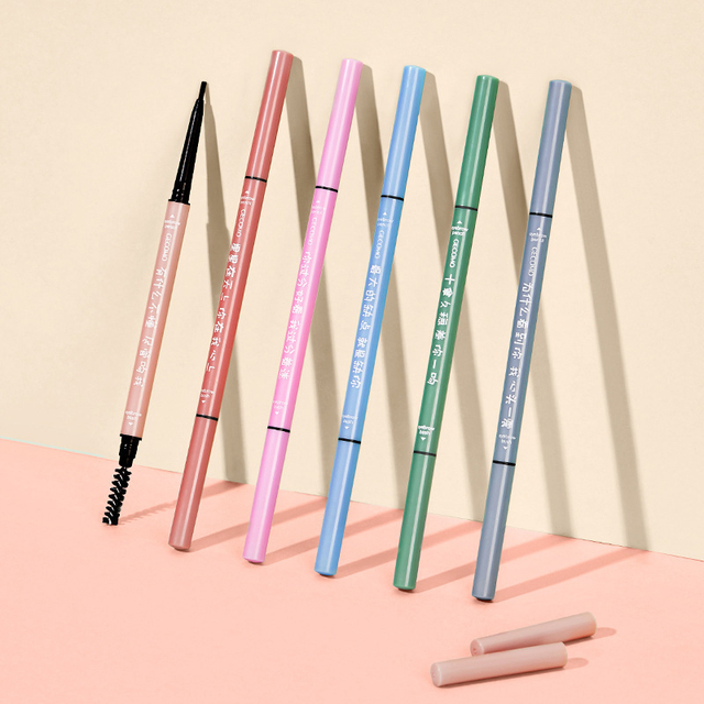 1pcs Eyebrow Pencil  Waterproof Crayon Sourcil  Brow Pencil  Long- Lasting Makeup  Beauty  Lapiz De Ojos Crema Kosmetyki Do Brwi 3
