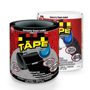 Adhesive-Fiber Sealing-Tape Stop Crack Leak-Seal Black/white Super-Strong Fix
