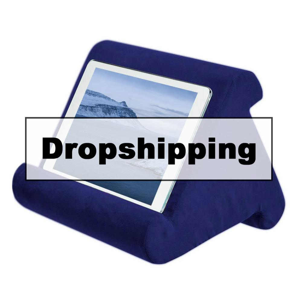 Multi-Angle Soft Pillow Pad Pillow Lap Stand For Xiaomi / IPads Tablets EReaders Smartphones Books & Magazines Support Dropship