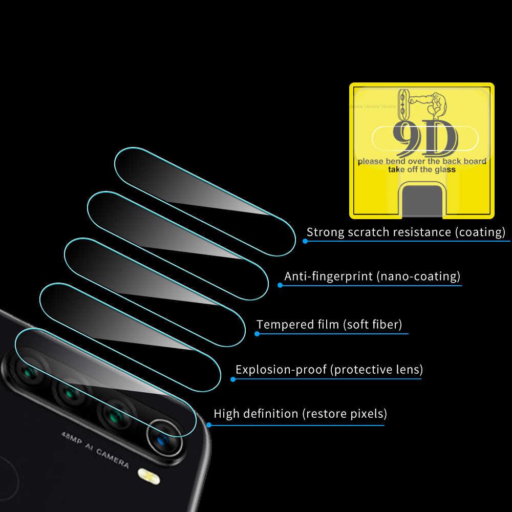 2Pcs 9D Camera Lens Tempered Glass For Xiaomi Mi 9 SE Mi9T Pro Screen Protector on Redmi Note 8 7 Pro Len Protector Film Cover