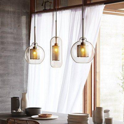 Işıklar ve Aydınlatma'ten Kolye ışıkları'de Iskandinav tasarım gül altın cam küre kolye ışık yaratıcı tasarım koridor oturma odası başucu yemek Decro Led aydınlatma armatürleri title=
