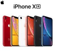Оригинальный смартфон Apple iPhone XR, 6,1-дюймовый жидкокристаллический дисплей Retina, 4G, LTE, IOS, FaceID, камера 12 мп, IP67, водонепроницаемый, для улицы