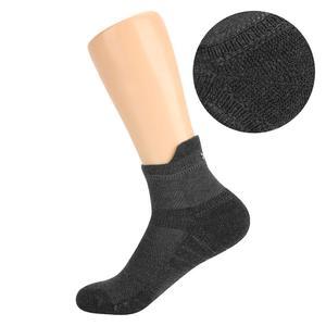 Image 4 - Yuedge Unisex bawełna, frotte poduszki na co dzień kolarstwo sportowe do biegania skarpetki krótkie Sneaker skarpetki