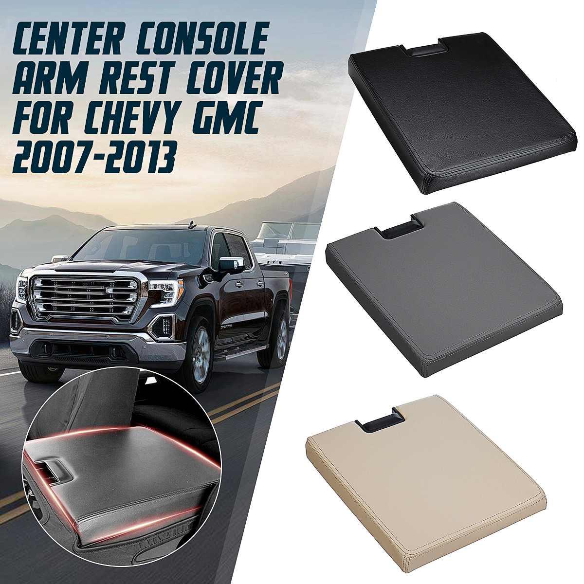 Couvercle d'accoudoir de voiture couvercle de Console centrale accessoires Auto pour Chevy Avalanche banlieue/GMC Yukon XL 2007-2013