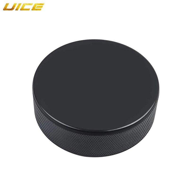 10Pcs Black Ice Hockey Pucks for Practicing Classic Training Hockey Balls