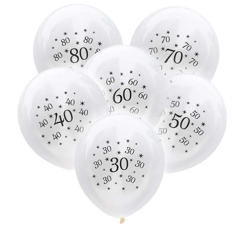 10pcs 30th <font><b>Birthday</b></font> Balloon 30 40 50 60 <font><b>70</b></font> 80 Year <font><b>Birthday</b></font> <font><b>Party</b></font> Decorations Adult Anniversary Baloons For Adult <font><b>Birthday</b></font> <font><b>Party</b></font> image