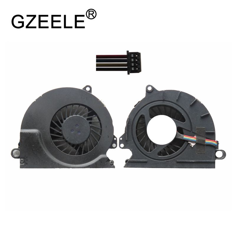 GZEELE 95%new Laptop Cpu Cooling Fan For HP For EliteBook 8440 8440P 8440W Notebook Computer Processor Cooler 594049-001