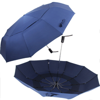 10K Windproof Double Layer Big Umbrella Rain Women Man Full Automatic Parasol For Men 3Folding Umbrella Male Paraguas Plegable