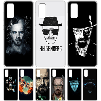 Breaking Bad Walter White Phone Case cover hull For SamSung Galaxy S 6 7 8 9 10 20 Edge Plus E Lite 5G Ultra transparent Etui image