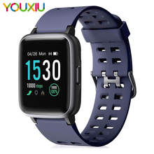цена на Smartwatch IP68 Waterproof Fitness Tracker Women Heart Rate Monitor Blood Pressure Oxygen Smart watch Clock For Android monitor