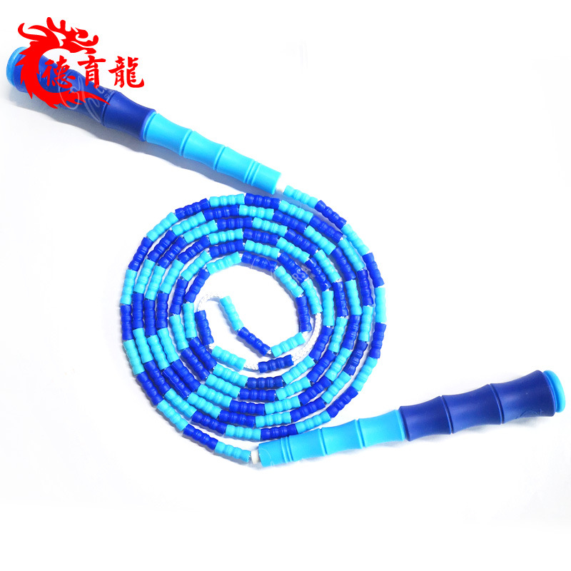 Small Students Beads Regulation Children Handle Beginners Can Jump Rope Plastic Zhu Jie Sheng
