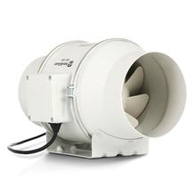 Вентилятор для труб 150 сильный вытяжной вентилятор кухонный вытяжной вентилятор 6 дюймов немой вентиляционный для ванной вентилятор