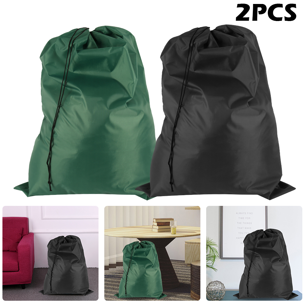 2pcs/set Foldable Laundry  Bag For Dirty Clothes Toys Bag Organizer Kids Home Storage Washing Organization Packing Drawstring