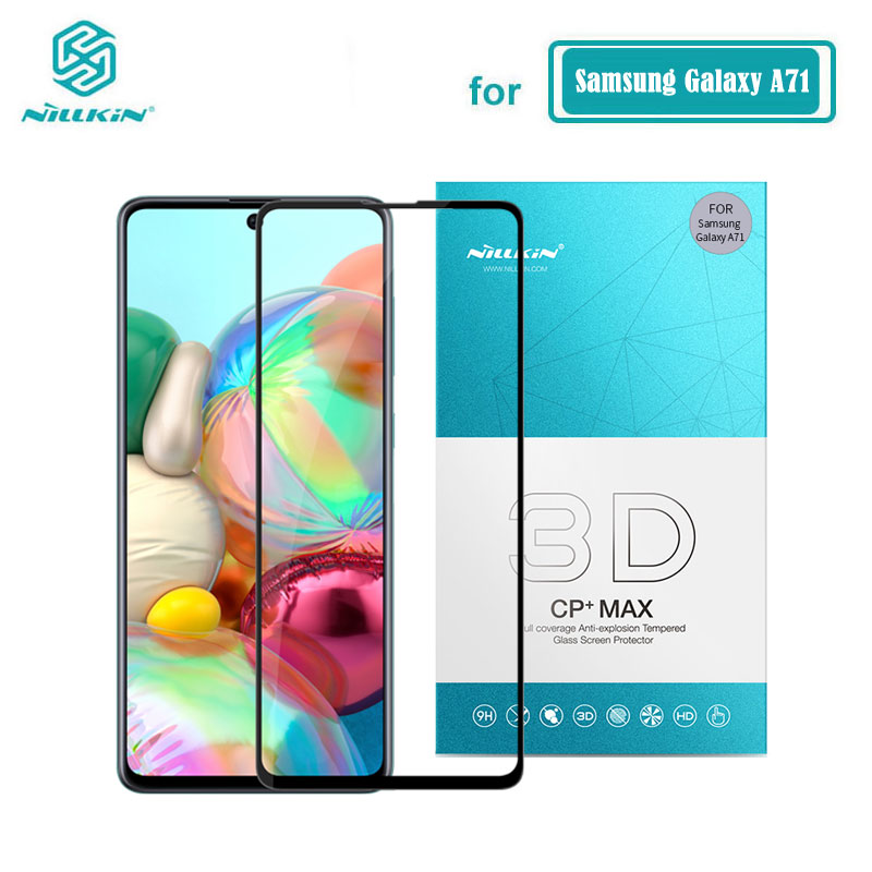 Nillkin Tempered Glass For Samsung Galaxy A51 A71 3D CP+MAX Full Cover Screen Protector For Samsung A71 Glass