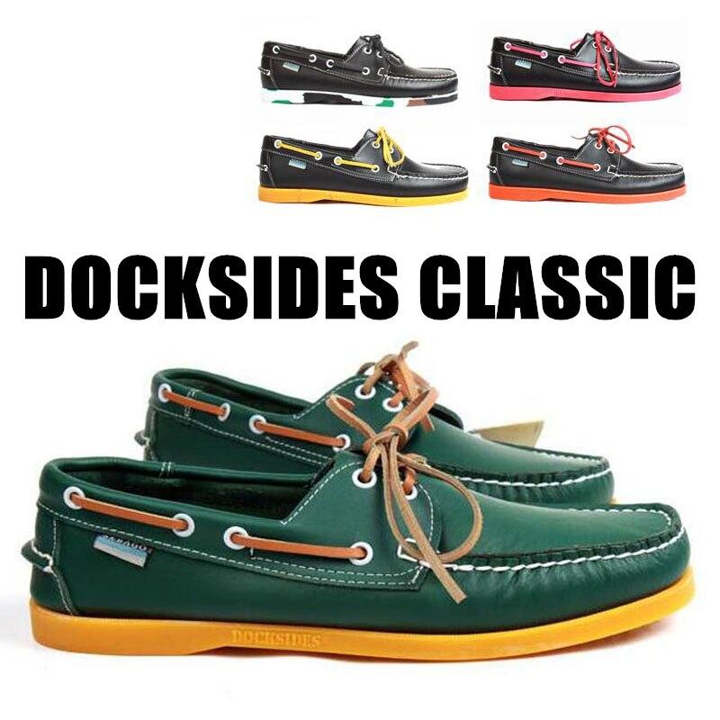 Zapatos de barco clásicos Docksides de cuero genuino para hombres, zapatillas de diseñador para hombres, zapatos de mujer Hommme Y072 Nueva Experiencia alta para ayudar a los zapatos deportivos tejidos para hombres, zapatos informales para hombres, zapatos ligeros y cómodos para hombres