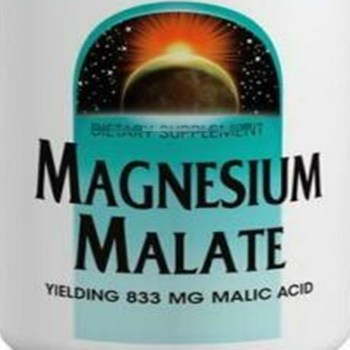Magnesium malate, enzyme synthesis, body detoxification,1250mg x 180 pcs