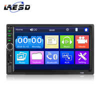 Car Audio Double Din 2DIN 7inch Touch screen Digital Media Stereo Built-in Bluetooth Connect With Both Iphone And Android Phone