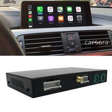 Para adaptador de interface sem fio BMW carplay 1 2 3 4 5 6 7 série F20 F30 F10 F11 F07 F01 x1 X3 X4 X5 X6 CIC NBT android caixa de auto
