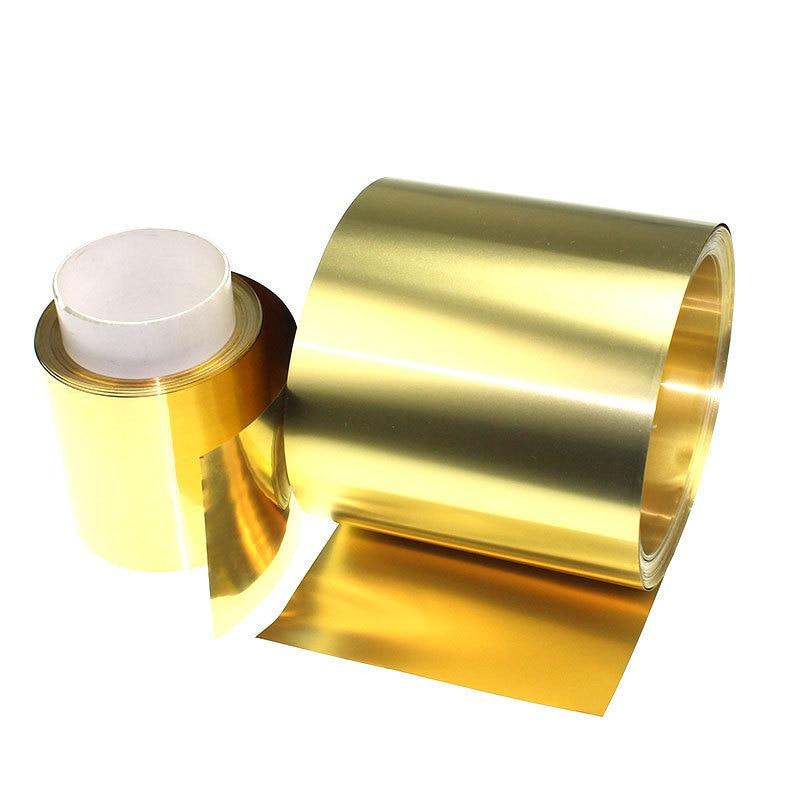 H59 Brass Bring Brass Piece Brass Pihuang Copper Foil Thin Copper Sheet 0.05/0.1/0.2/0.3/0.4mm