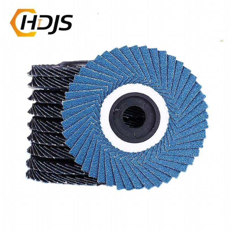 5Pcs 4Inch 100mm 12000rpm Grinding Wheels Flap Discs Angle Grinder Sanding Discs Metal Plastic Wood Abrasive Tool 80#320#