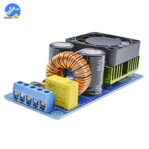Image 4 - IRS2092S 500W wzmacniacz Mono Board klasy D HIFI wysokiej mocy cyfrowy wzmacniacz 20Hz 20KHz ochrona głośników z wentylatorami
