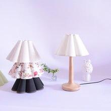 Новинка Винтажная настольная лампа xianfan из массива дерева