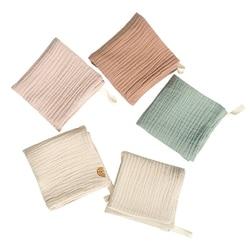 5 pçs toalha do bebê toalha de banho do bebê toalha de algodão pano de arroto macio absorvente gaze do jardim de infância toalha