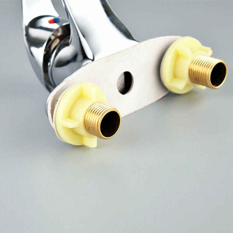 مزدوجة Couplet حوض صنبور مصرف الحمام الحديثة أحادية خلاط مقبض واحد رافعة