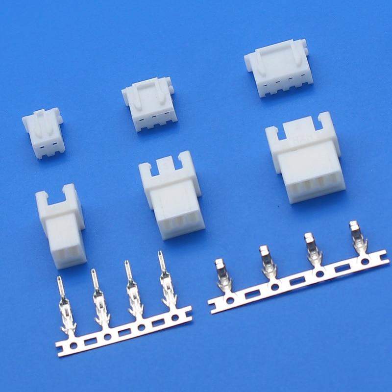 10 комплектов XH2.54 2,54 мм провода кабельный разъем XH штекер и женский JST антенна док для шнур для зарядки батареи DIY
