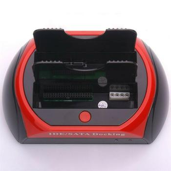 Base de disco duro 875D-J para disco duro SATA/IDE de 2,5/3,5 pulgadas...