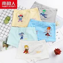 NANJIREN Children Comfortable Clothing Kids Underwear Casual Warm Cotton Spandex Cartoon Print Breathable Pants For Boys