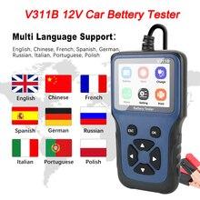 12v carro carregador de bateria tester analyzer automotivo carregamento cricut teste carga v311b ferramenta diagnóstico automático