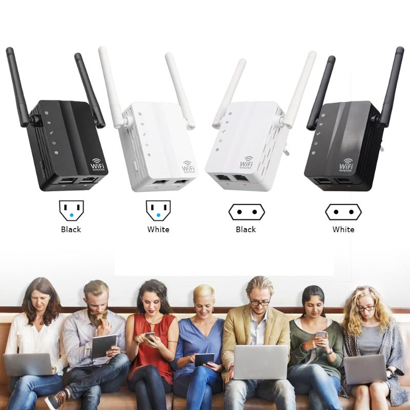 2 Antennas Booster Repeater Router Signal-Amplifier Range-Extender Wifi Dual-Band Wireless-Wifi title=