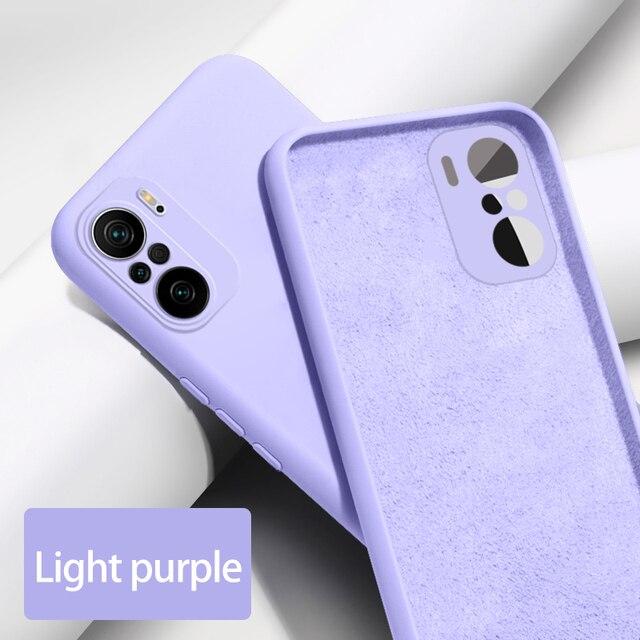 Phone Case for Xiaomi Redmi Note 10 10S 9 9S 8T 8 Pro 10X 9A 9C K40 K30 Liquid Silicone Shockproof Cover Case Mi Poco X3 F3 M3