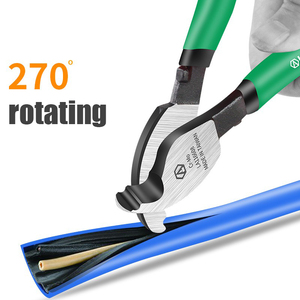 """Image 4 - LAOA Cable Cutter Wire Cutting Hand Tools for Professional Electricians  6""""/8""""10"""" Cable Stripping Pliers"""