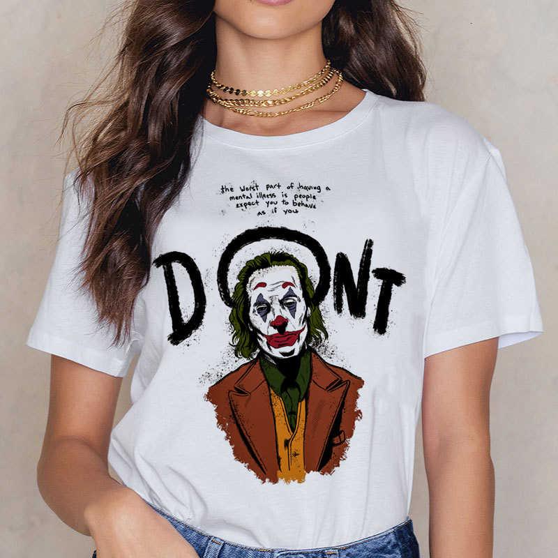面白いジョーカー 2019 ホアキンフェニックスおかしい Tシャツ男性/女性/子供夏新白カジュアルオム Tシャツユニセックスストリート tシャツ