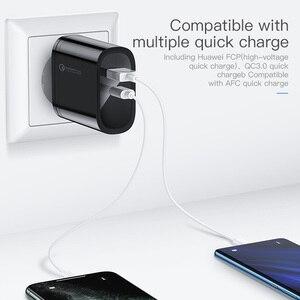 Image 2 - KUULAA adapter USB, przenośny adapter do ładowarka USB, 36 W, technologia Quick Charge 4.0, PD 3.0, USB C, tryb szybkiego ładowania, do urządzeń iPhone, Xiaomi