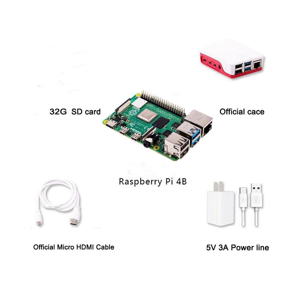 Presale ! Raspberry Pi 4B 4 Model B 4GB RAM Of LPDDR4 SDRAM 1.5GHz 64-bit Quad-core