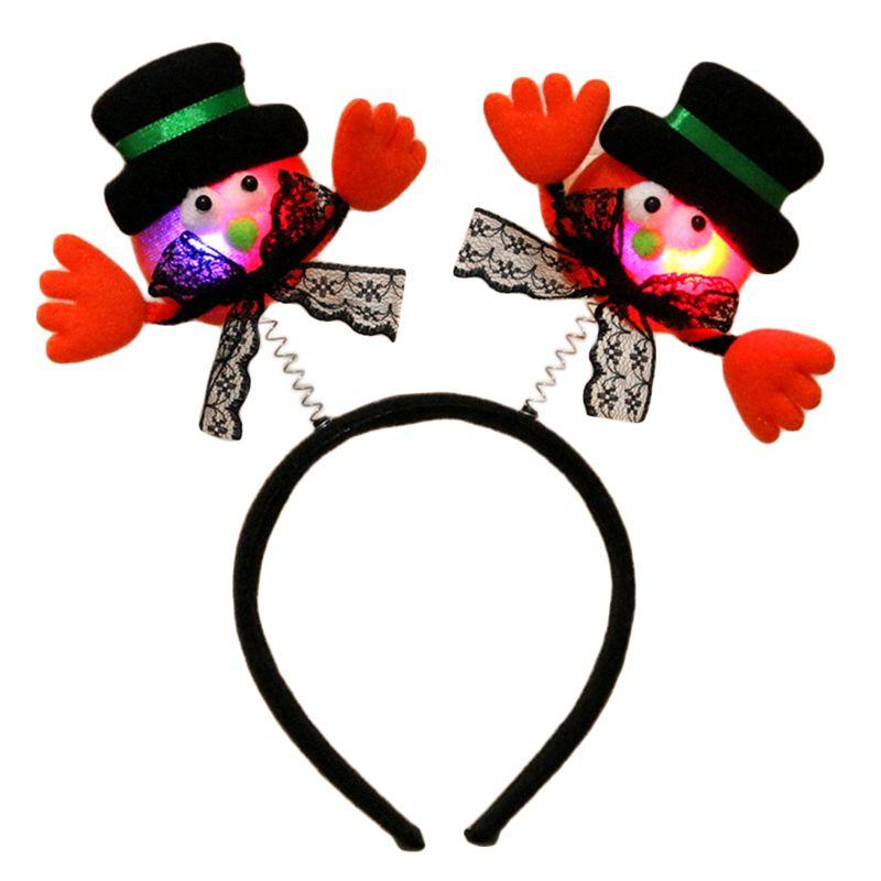 Bat Wings Ears Hair Hoop Halloween Party Headband Hairband Headwear Cosplay  F