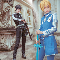 Japanese Anime Sword Art Online Eugeo Cosplay Costume SAO Alicization Kirigaya Kazuto Cosplay Costume Halloween Uniforms
