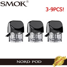 3pcs-9Pcs Original SMOK Nord Pod 3ML Cartridge Atomizer Replacement Tank Vaporizer for E Cig SMOK Nord Pod System Vape(China)