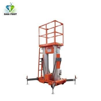 Vertical hydraulic aluminum lift table equipment