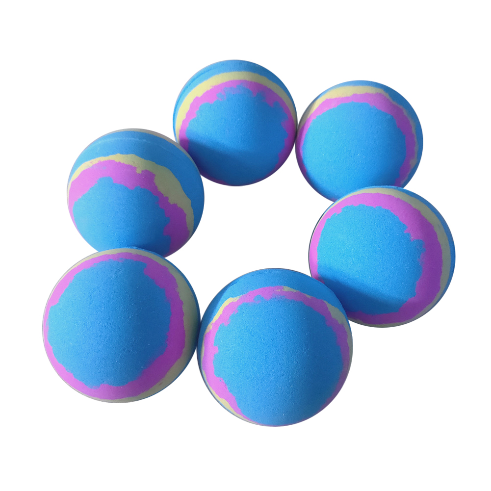 1PC Bathroom Bomb Ball Body Cleaner Bath Salt Moisturizing Bubble Shower Random Color