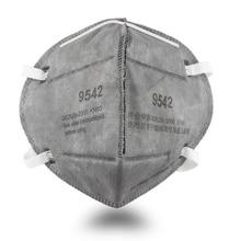 KN95 Mask N95 virus mouth Adult Vertical Folding Nonwoven Valved Dust Mask PM 2.5 Respirator Mouth Mask Valve Gauze Haza Mask