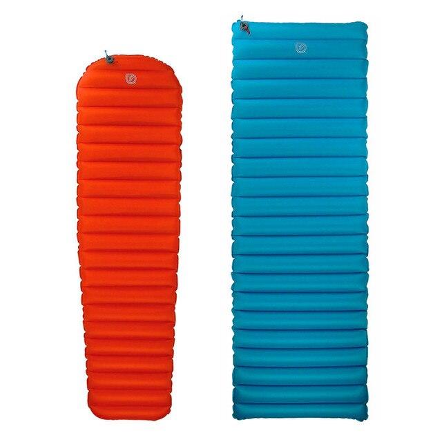 JR GEAR R3.0 R5.0 colchón inflable ultraligero Primaloft, resistente a la humedad, de TPU, para tienda de campaña al aire libre, colchoneta de aire