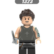 Один LegoINGlys Супергерои Мстители завершающей фигурки Железный человек Hawkeye Коллекция строительных блоков, игрушки для детей, подарки, X0265