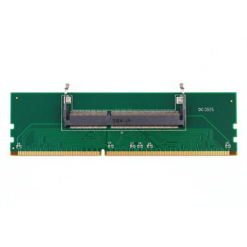 DDR3 Notebook Memory to Desktop Memory Connector Adapter Card 200 Pin SO-DIMM to Desktop 240 Pin DIMM DDR3 Adapter