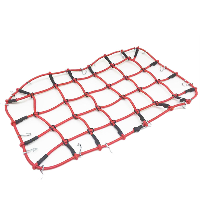 Nylon Rope Luggage Rack Net For 1/10 RC Crawler Car TRX4 Defender Bronco RC4WD D90 D110 Axial Scx10 90046