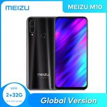 MEIZU M10 глобальная версия 2 ГБ/3 Гб оперативной памяти, 32 Гб встроенной памяти, Процессор MTK P25 Octa Core тройной Камера Android телефон 4000 мА/ч, большая Б...