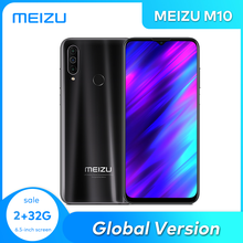 MEIZU M10 Global Version 2GB 3GB 32GB MTK P25 Octa Core Triple Camera Android Phone 4000 mAh Big Battery